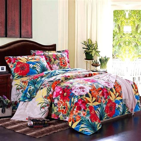 Tropical Bedding Sets Queen Amazoncom Madison Park Hawaiian Print Bedding Sets