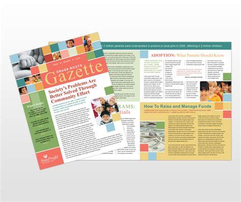 non profit newsletter template child care templates mycreativeshop flyer brochure maker