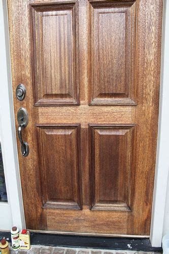 How To Paint A Door Without Brush Marks by Weathered Wood Wooden Front Doors And Wood Front Doors On