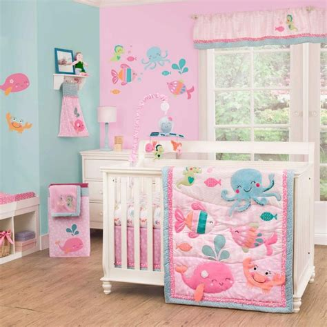 Sea Themed Crib Bedding by The Sea 4 Baby Crib Bedding Set By Carters