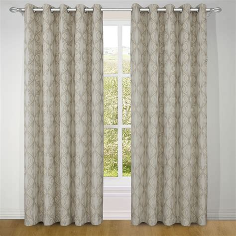natural and black curtains venice natural ready made eyelet curtains harry corry