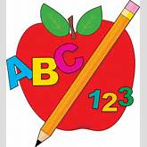 Teacher Apple And Pencil | Clipart Panda - Free Clipart Images