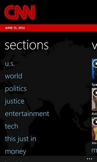 cnn comments section the official cnn app now available for all wp7 devices