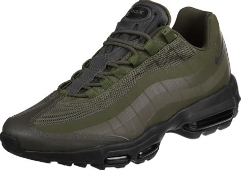 air max nike shoes nike air max 95 ultra essential shoes olive black
