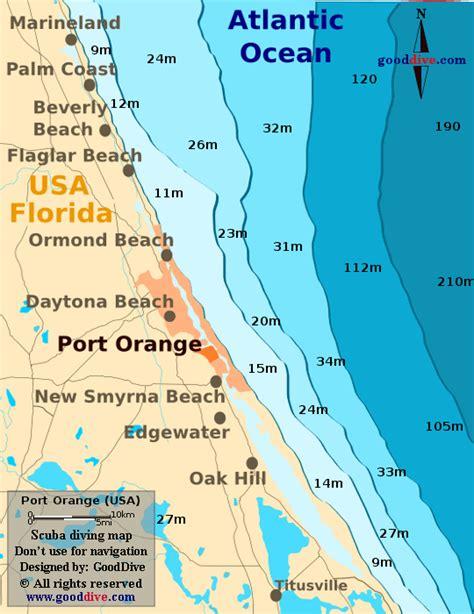 map port orange florida port orange map gooddive