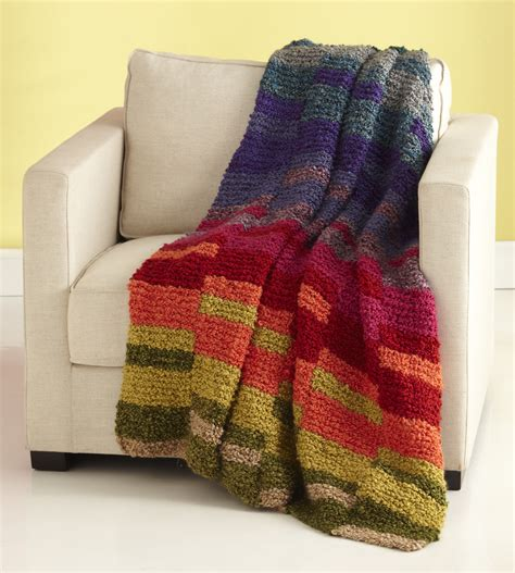easy knitted afghan patterns light spectrum afghan allfreeknitting