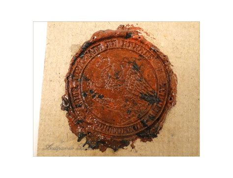 seals wax seal attorney imperial court of rennes 19th