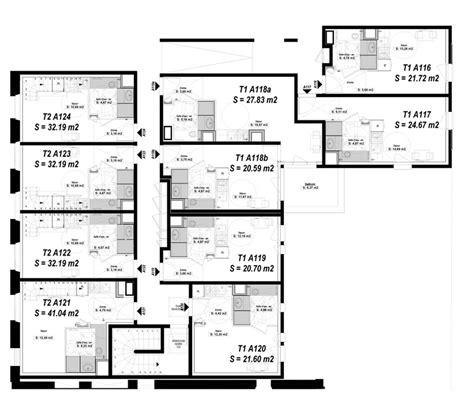 t2 2 chambres duplex n 176 a123 clair matin t2 de 32 19 m 178 224 rennes le centre