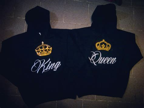 imagenes de amor king y queen sudaderas king and queen novios king queen love amor