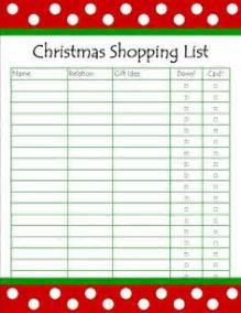 1000 images about shopping lists on pinterest christmas