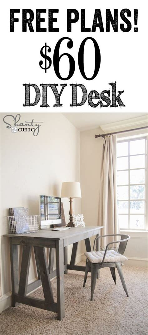 Diy Easy Desk Computer Desk Plans Free Woodworking Projects Plans