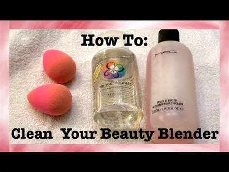 beauty blender tutorial youtube how to clean your beauty blender easy tutorial youtube