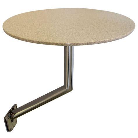 boat table removable pedestal side table mount