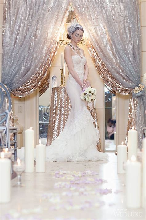 25  best ideas about Sequin backdrop on Pinterest   Gold