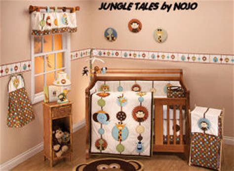 nojo jungle babies crib set nojo jungle babies bedding and nursery decor for your baby