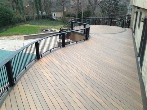 best decking material decks composite decking material review