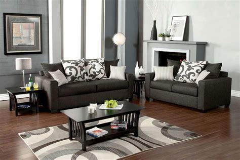 grey sofa set 1640 graphite gray sofa set living room sets