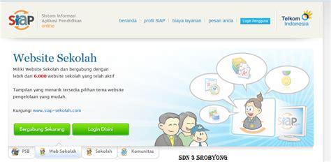 membuat web sekolah membuat web sekolah gratis di akun padamu negeri sd