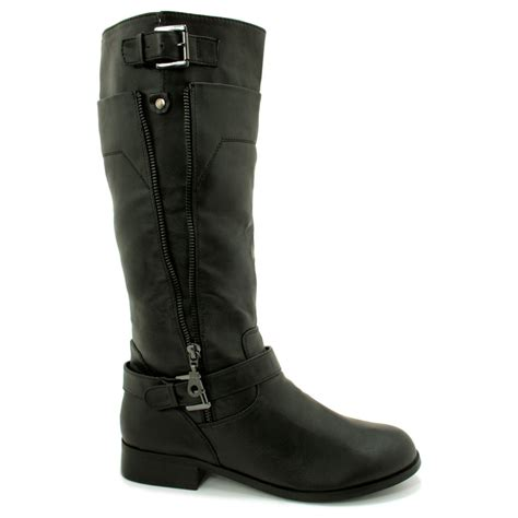 high motorcycle boots womens knee high motorcycle boots short hairstyle 2013