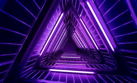 wallpaper lights purple neon triangles  photography  wallpaper  iphone
