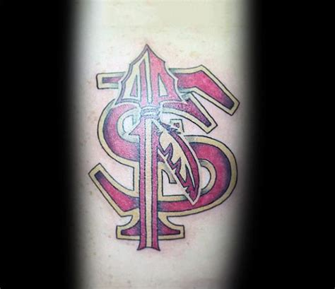 fsu tattoos 42 popular fsu and designs gallery golfian