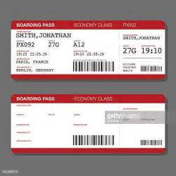airplane boarding pass template airplane ticket vector and graphics getty images