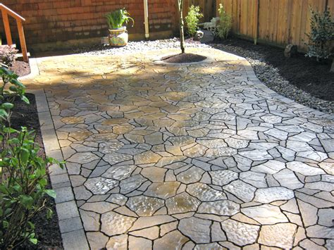 patio ideas backyard concrete patio cost backyard