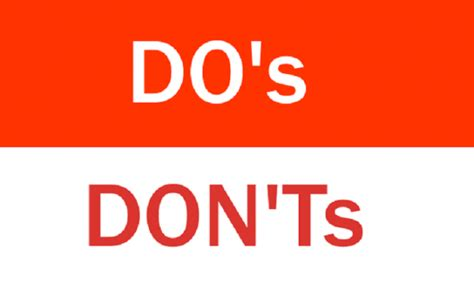 do s and don ts study in canada