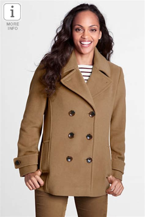 7 Best Pea Coats For Fall by Fashion Deal Of The Day Lands End S Regular Luxe
