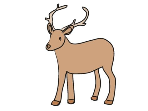 clip deer deer clip without background color clipart panda