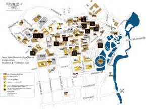 Texas State University Map by Texas State University Map My Blog