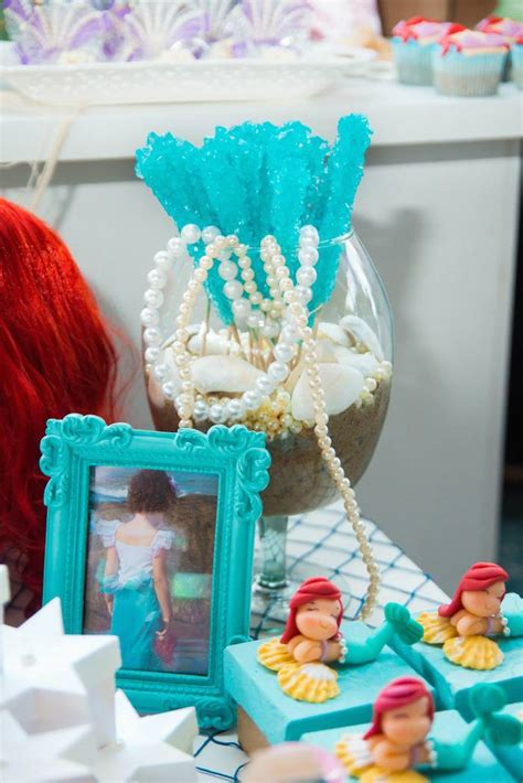 little decorations the little mermaid themed birthday party via kara s party