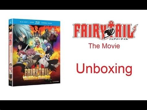 unboxing annie 2014 film version blu ray youtube unboxing fairy tail movie the phoenix priestess blu