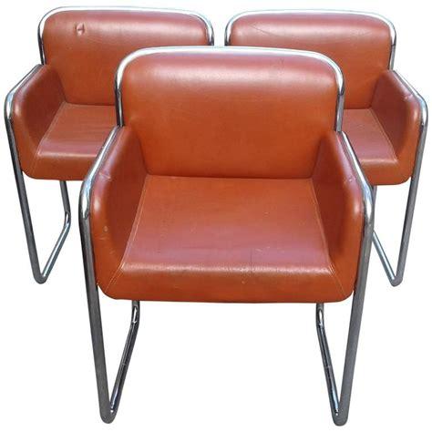 lounge with desk arm john stuart chrome arm vintage chairs desk lounge dining