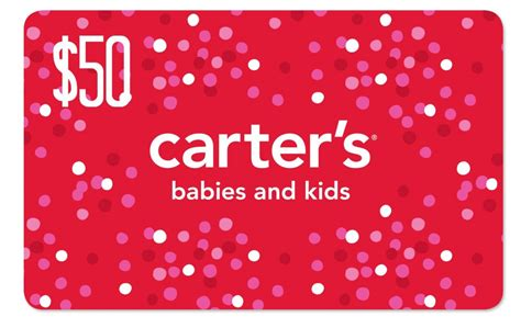 Carters Gift Card - gift card carters lamoureph blog