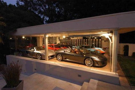 awesome car garages awesome and most beautiful garages for super cars 54 pics
