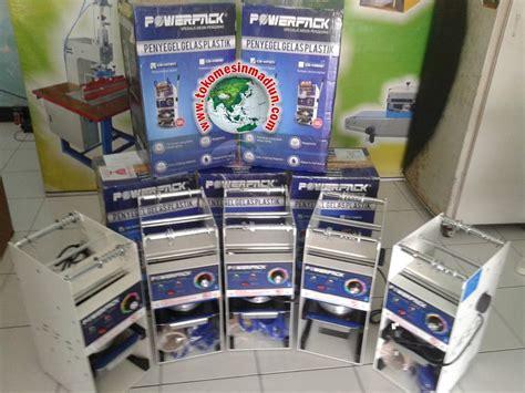 Alat Pres Gelas Plastik Surabaya mesin cup sealer pres gelas toko mesin gama sakti