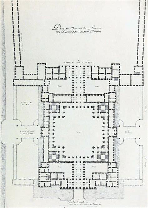 Bernini S Design For The Louvre Paris Floor Plans | mus 233 e du louvre the louvre paris and design