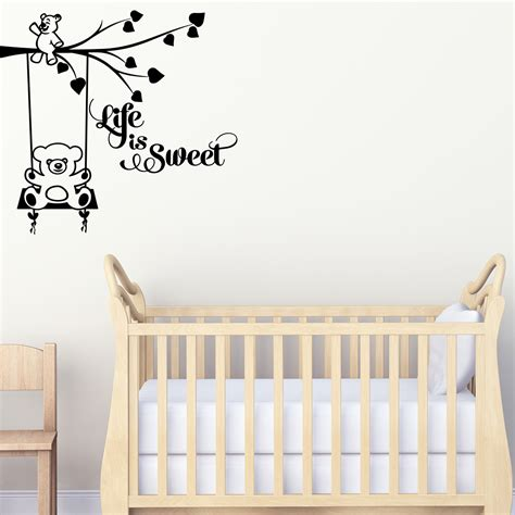 stickers muraux citations chambre sticker chambre enfant citation is stickers