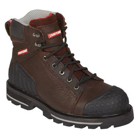craftsman boots craftsman s 6 inch steel toe work boot max brown 11