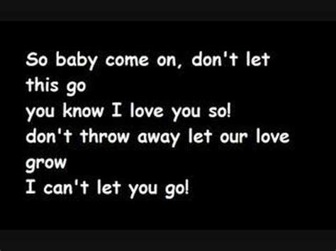 Can T Let You Go Mp | can t let you go lyrics youtube