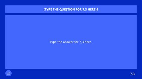 powerpoint jeopardy questions slide vectors slidemodel