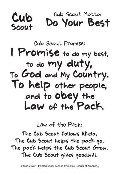 Scout Pledge The World S Catalog Of Ideas