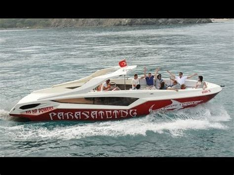 party boat antalya parasailing boat diving boat party boat all in one