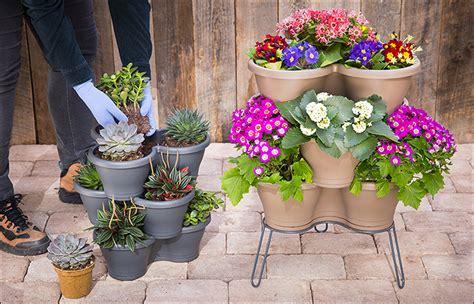 elho 174 vertical garden planter pots valley tools