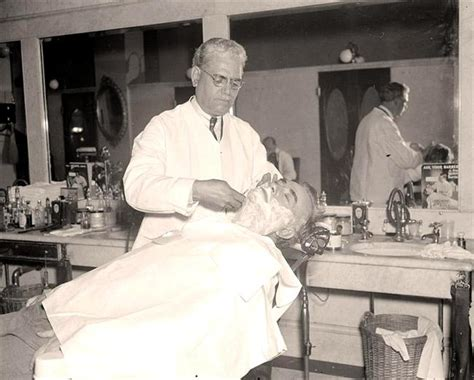 getting a old mans combover in barber shop a history of shaving doomstead diner