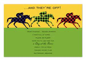 day at the races party invitations by invitation