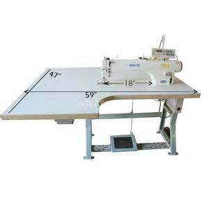 automatic 18 quot arm sewing machine selco ddl 9988