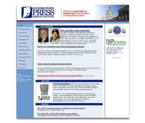 put experience to work for hspa hoosier state press association hspa website design graphic design 317 413 4281