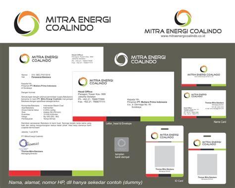 design logo perusahaan tambang sribu mining logo stationery designs service